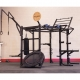 Body-Solid® Crossfit Hexagon Short Rack Club Package